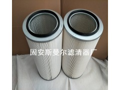 工业除尘滤芯聚酯纤维除尘滤筒3260