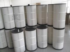 除尘滤芯350*660无纺布除尘滤筒聚酯纤维无纺布滤筒